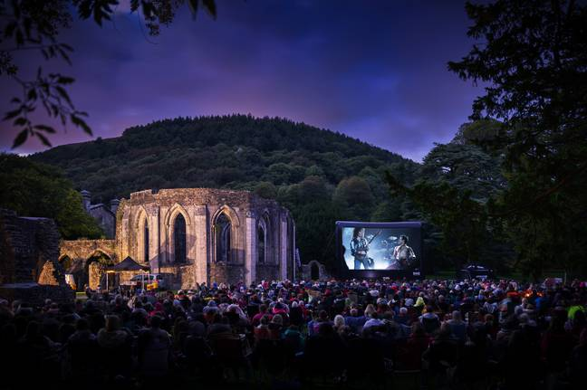 You can watch movies in the most picturesque settings (Credit: Adventure Cinema)