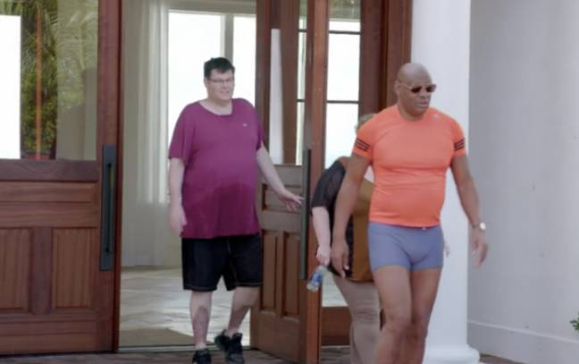 Shaun's short shorts have caused quite a stir (Credit: ITV)