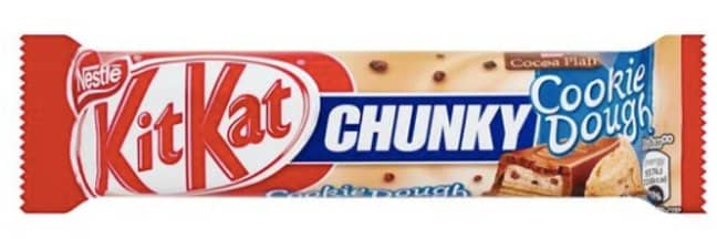 The cookie dough KitKat will be back on sale next month (Credit:KitKat/Nestle)