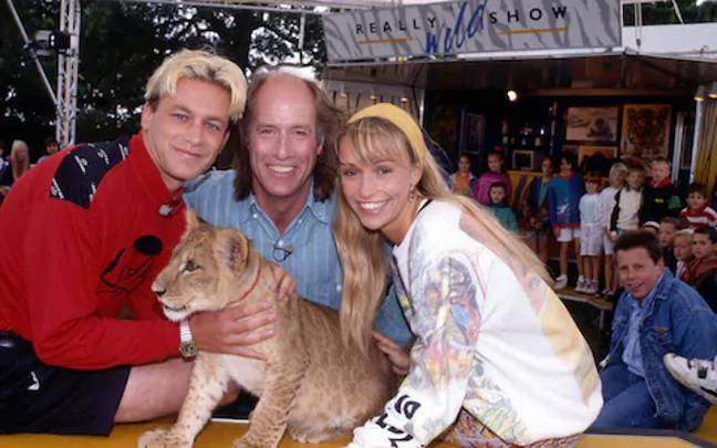 Chris Packham is set to reunite with co-star Michaela Strachan for the reboot (Credit: BBC)