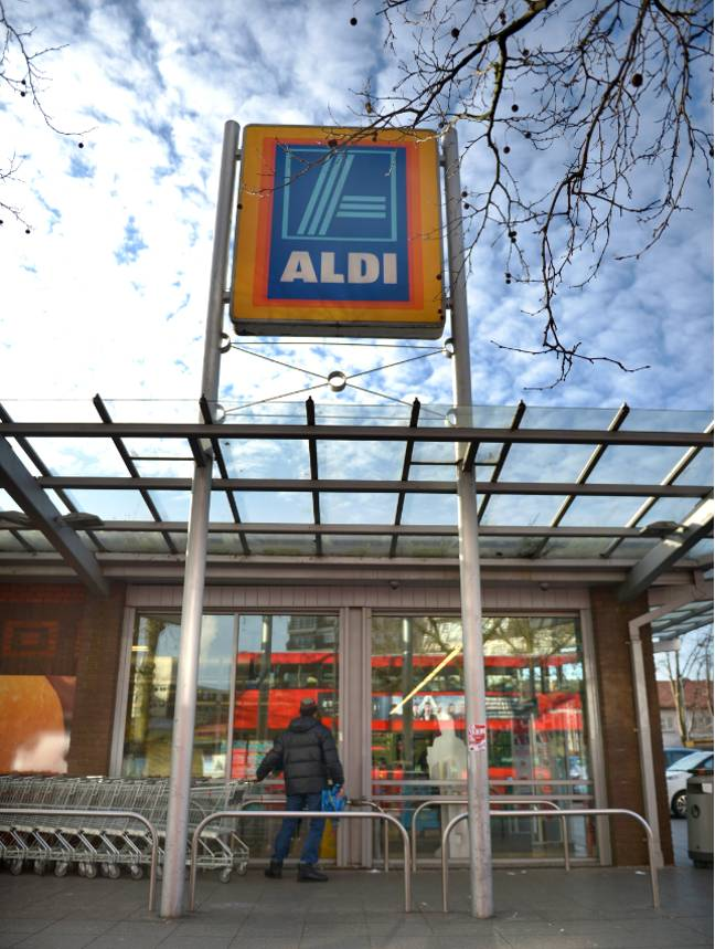 Aldi has placed a limit of 12 bottles per order to ensure supplies are available for everyone (Credit: PA)