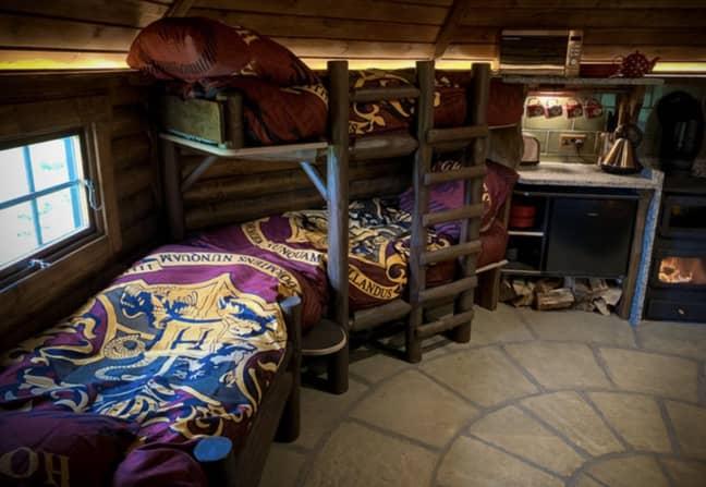 Hagridd's Hideaway sleeps up to five people (Credit: Media Drum World)