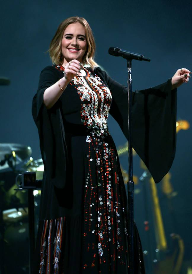 Adele relived her Glastonbury performance this weekend (Credit: PA)