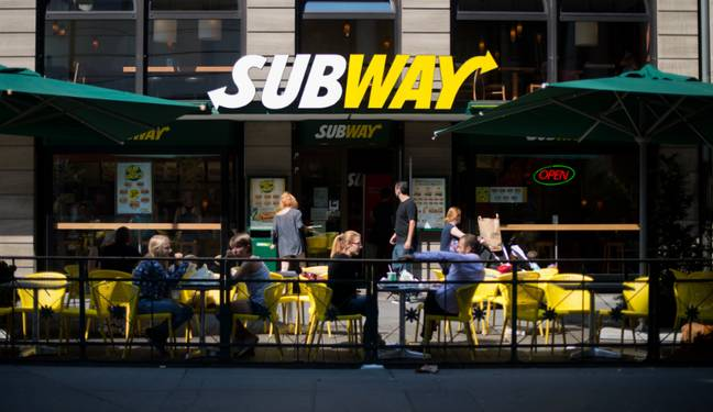 Subway closed its stores when lockdown as announced (Credit: PA)