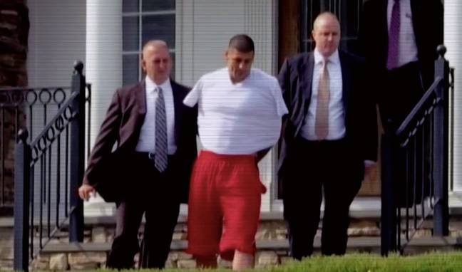Hernandez was convicted for the murder of Odin Lloyd in 2013 (Credit: Quest Red/Discovery)