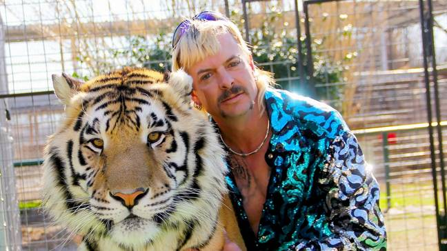 The big cat owner is currently serving 22 years in prison (Credit: Netflix)