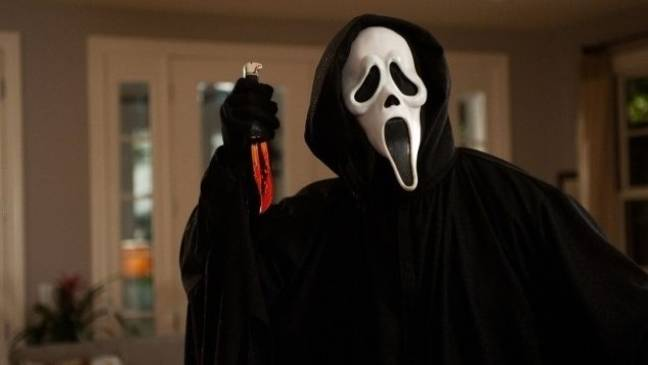 The iconic Ghostface killer will be coming back to haunt our dreams in Scream 5 (Credit: Scream)