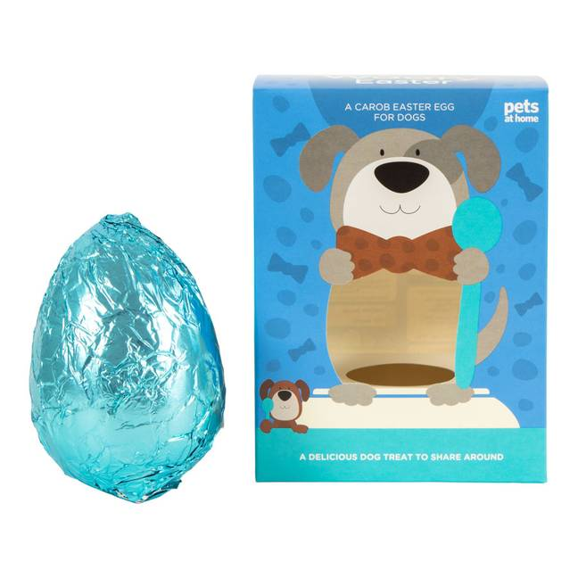 Dogs will love these pet-friendly Easter eggs (Credit: Pets at Home)