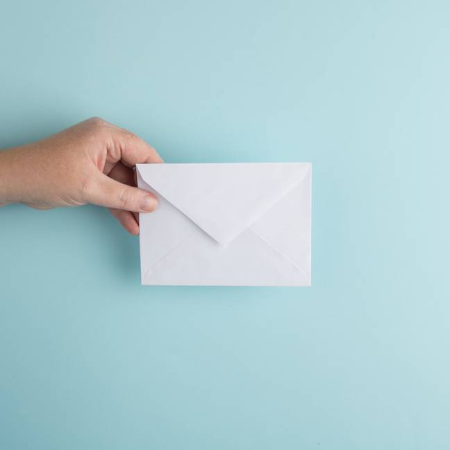 Label the envelopes from one to 100 (Credit: Unsplash)