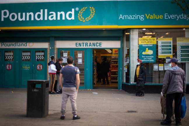 Poundland's new till alerts aren't popular with everyone (Credit: PA)