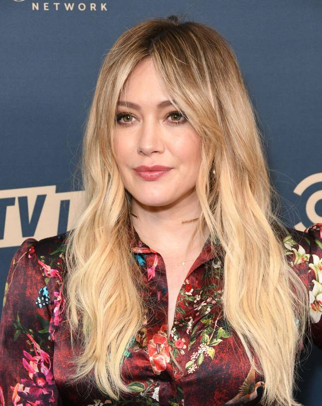 Hilary Duff has called out the plot hole (Credit: PA)