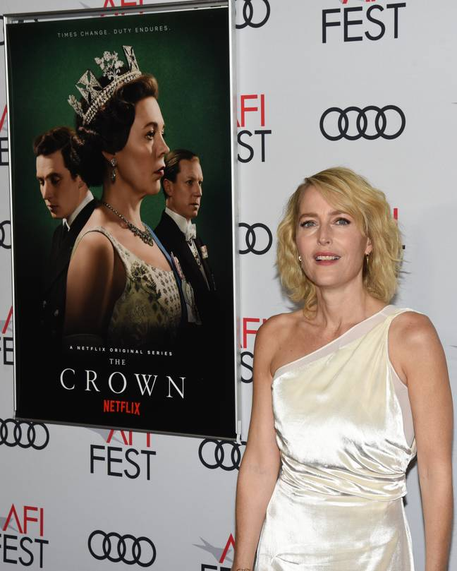 Gillian Anderson will join 'The Crown' as Margaret Thatcher. (Credit: PA)