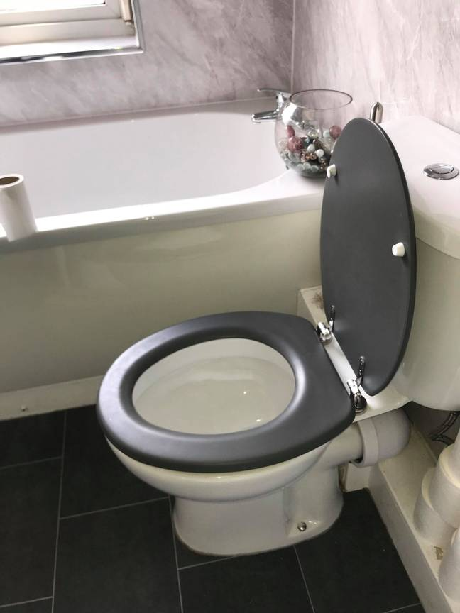Kirsty couldn't believe someone had used her toilet while she was asleep (Credit: Kennedy News and Media)