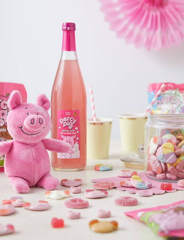 There's something for every Percy Pig fan (Credit: M&S)
