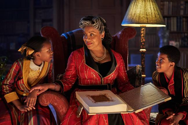 Hollywood legend Phylicia Rashad provides the voiceover in the Jingle Jangle trailer (Credit: Netflix)