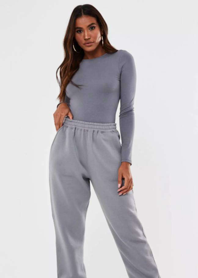 The ultimate working from home joggers, just £15 after discount (Credit: Missguided)