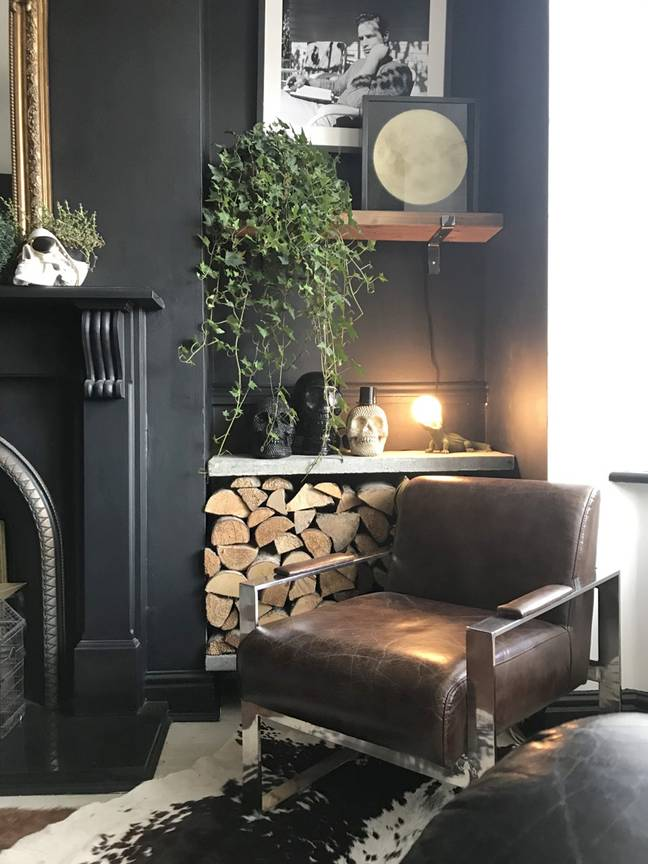 All items in the house are thrifted or were found in tips and skips (Credit:Caters)