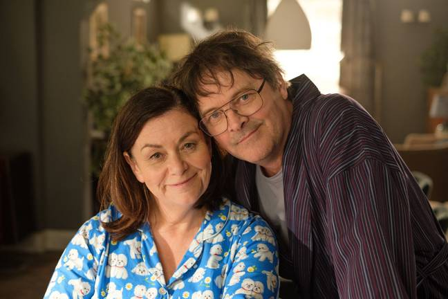 Dawn French stars alongside Mark Heap (Credit: ITV)
