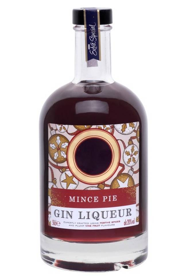 The Mince Pie is a liqueur costing £10 for 50cl. Credit: ASDA