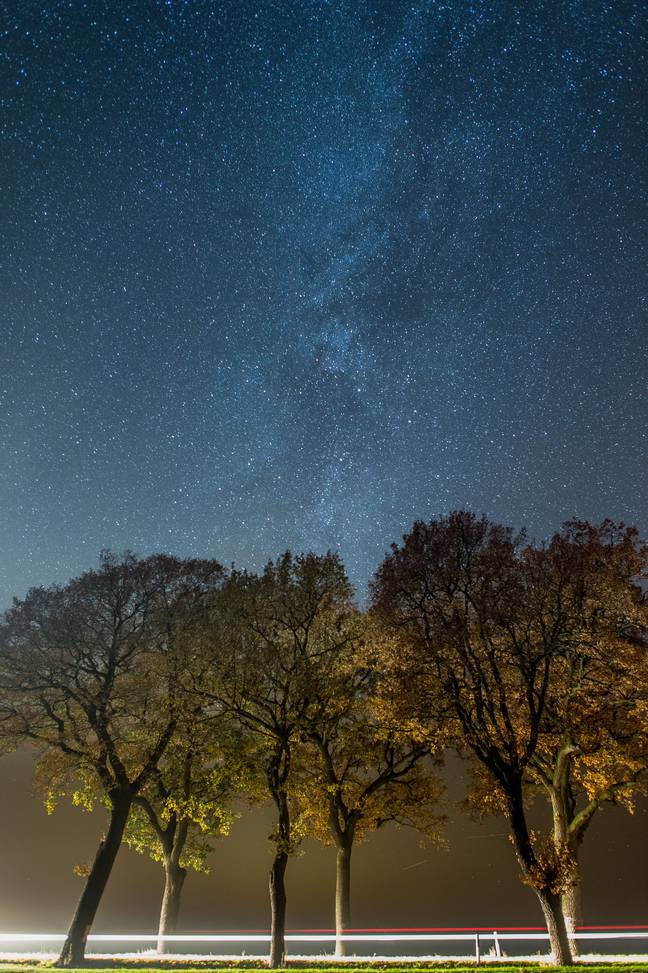 Stargazers at the ready (Credit: PA)