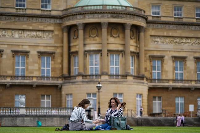 You can now take a picnic on the grounds for the first time ever (Credit: PA Images)