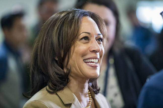 Kamala says she won't be the last female VP of colour (Credit: PA Images)