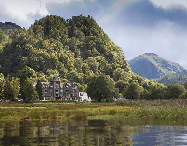 The Lodore Hotel with its 'sleep restaurant' is set in the beautiful Lake District countryside (Credit: Lake District Hotels)