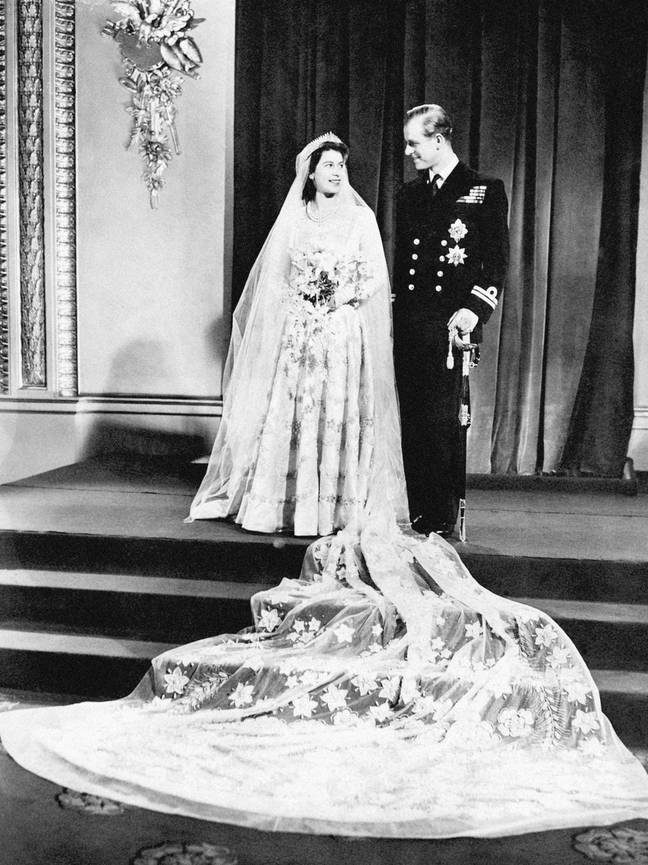 Philip married the Queen - then Princess Elizabeth - at Westminster Abbey in 1947 (Credit: PA)