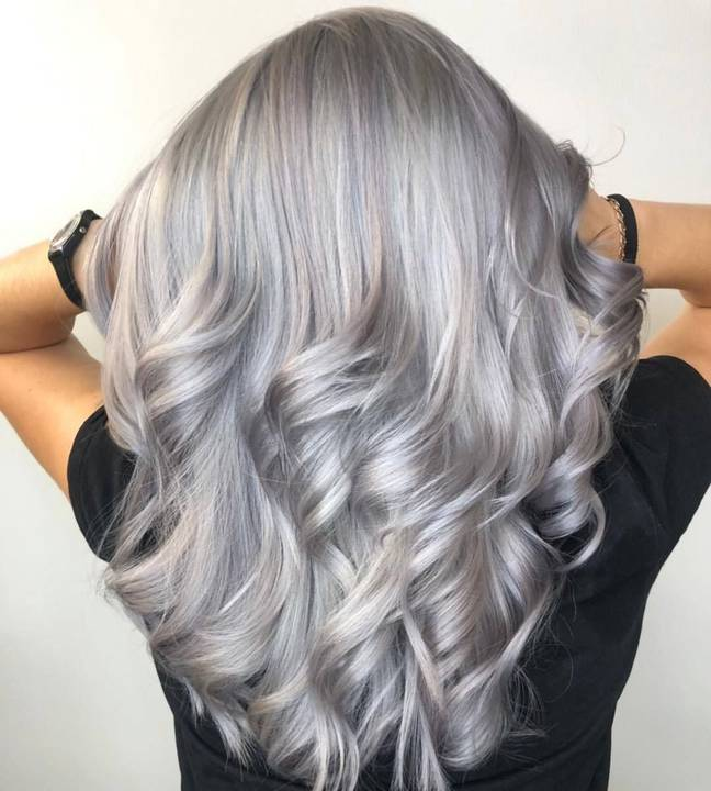 A silverising shampoo will make hair shiny and lustrous says Paddy McDougall (Credit: Schwarzkopf Professional)