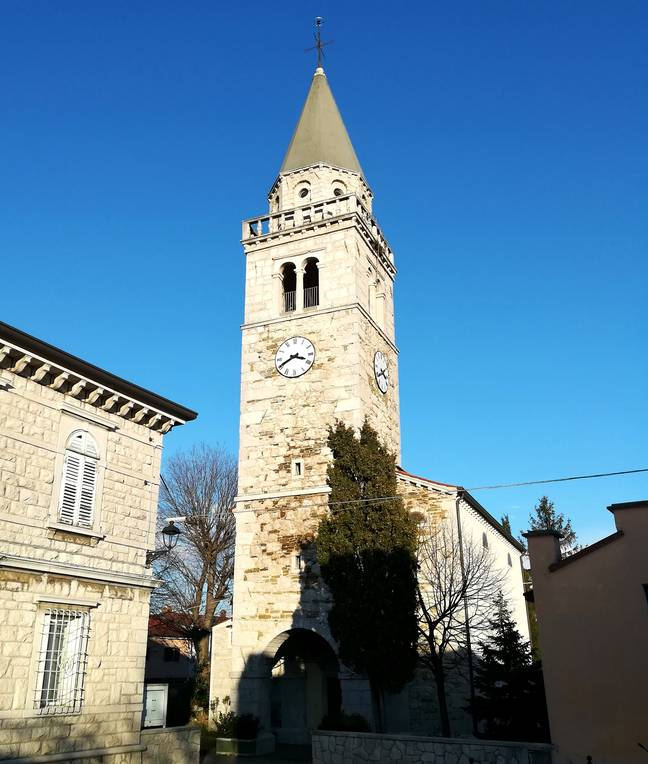 The village features a lovely little bell tower (Credit: Wikimedia Commons)