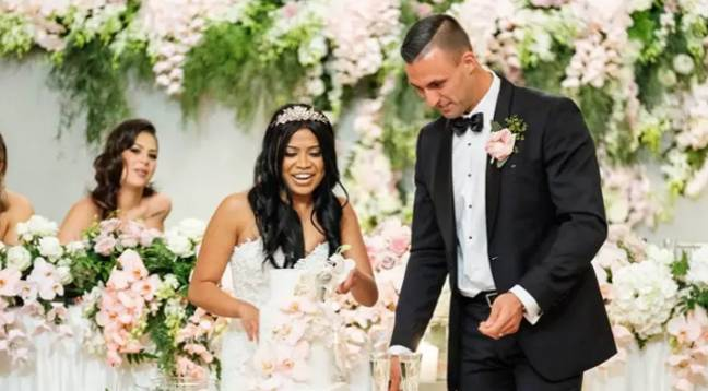 The Australian MAFS weddings looked legit on the show (Credit: Channel Nine)