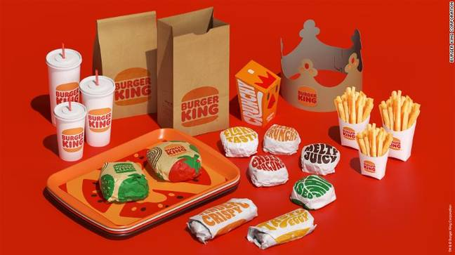 The new logo was designed by Jones Knowles Ritchie (Credit: Burger King)