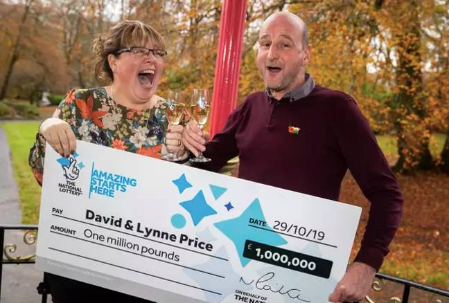 Lynne and David had been entering the lottery for years. (Credit: Camelot)
