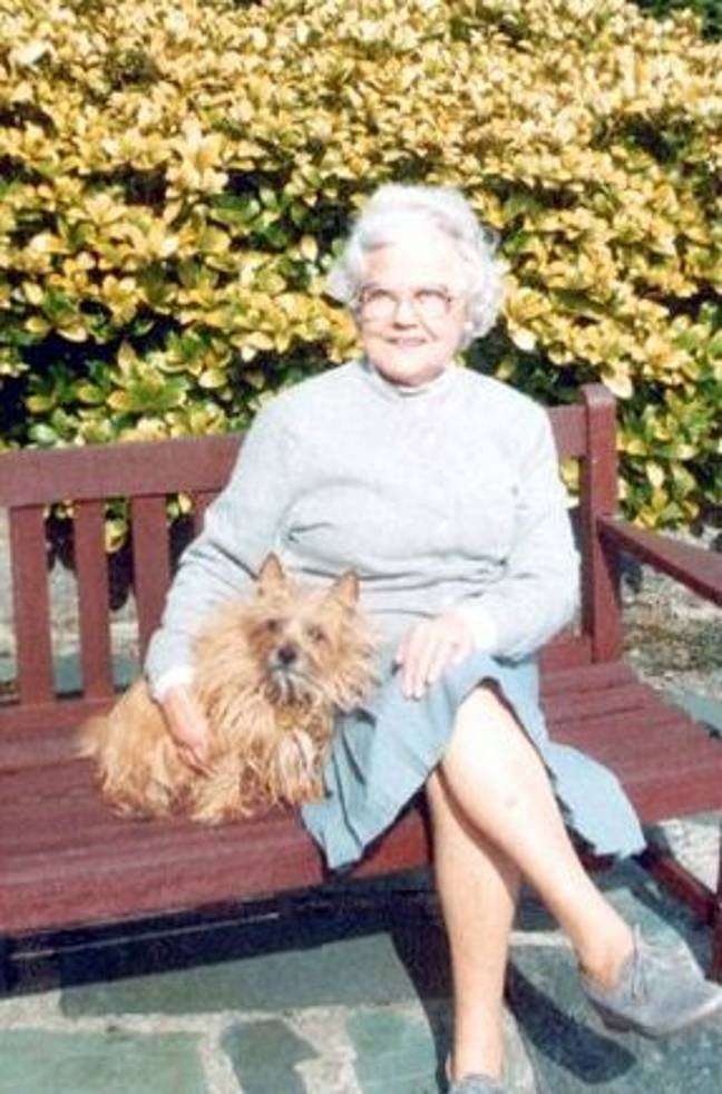 Mabel was found when one of her carers arrived at the house with a Sunday lunch (Credit: Crime + Investigation)