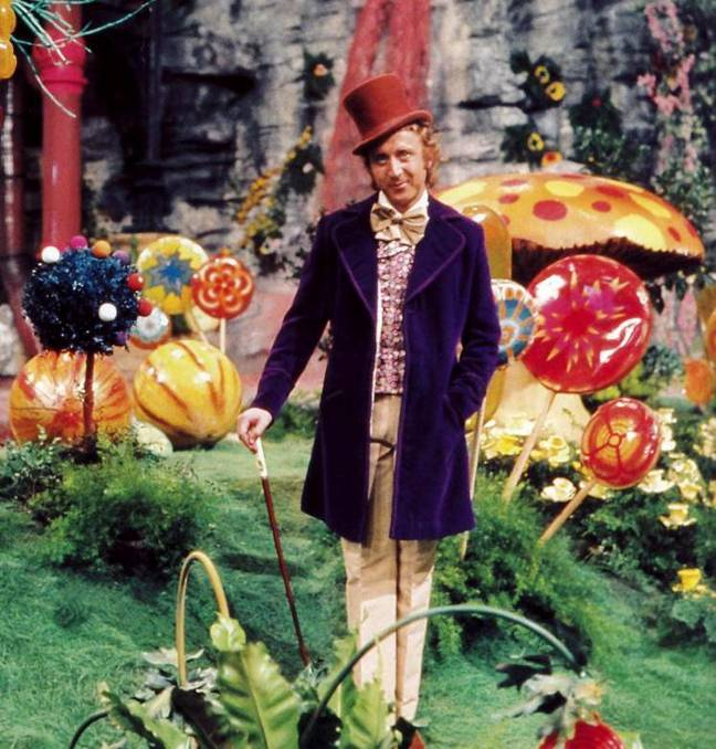 Gene Wilder was the first to play Wonka (Credit: Wolper Pictures)