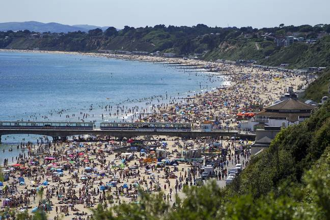 Bournemouth beaches was heaving last year (Credit: PA Images)