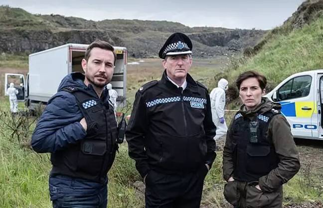 Vicky McClure, Martin Compston and Adrian Dunbar are returning to 'Line Of Duty' (Credit: BBC)