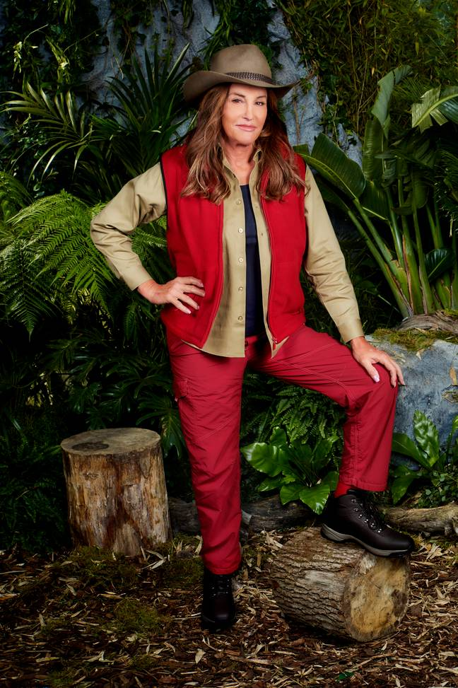 Reality star Caitlyn is one of the biggest A-Listers on this year's I'm A Celeb. (Credit: ITV)