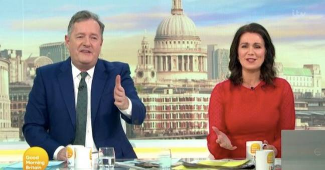 Piers Morgan said Harry and Meghan's interview was 'crass' (Credit: ITV)
