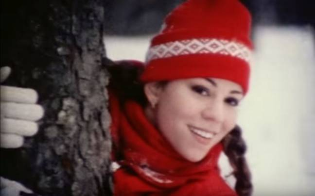 Mariah Carey released a new video for 'All I Want for Christmas is You' with new footage Credit: Mariah Carey/Columbiait