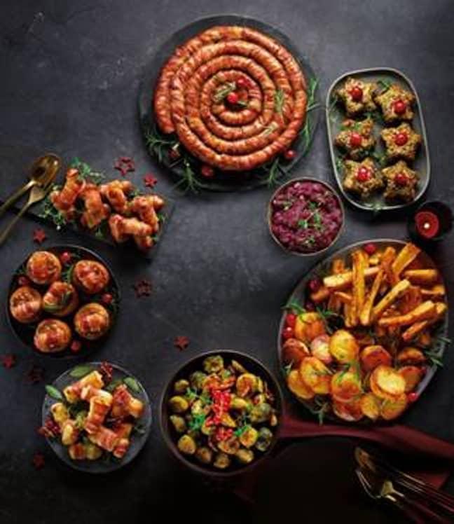 Aldi's festive food range is not one to miss (Credit: Aldi)