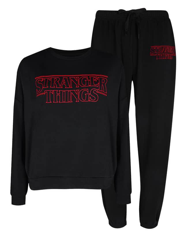 Stranger Things joggers, £10, and sweatshirts, £10 (Credit: Primark)