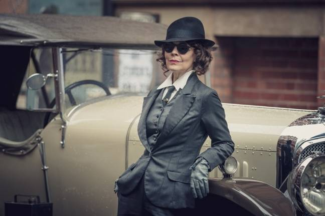 Of course, Polly Gray was back and badder than ever (Credit: BBC)