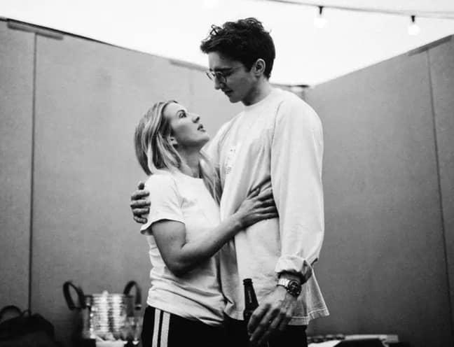 Ellie and Caspar welcomed their son into the world last Thursday (Credit: Ellie Goulding/ Instagram)