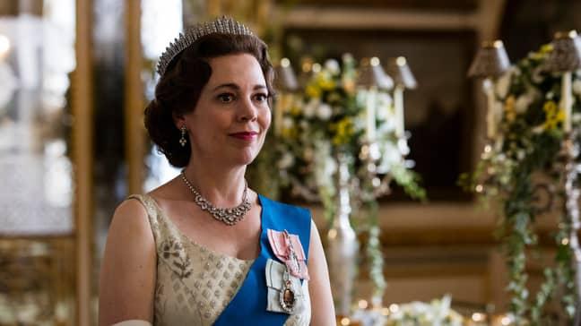 Olivia Colman stars as The Queen (Credit: Netflix)
