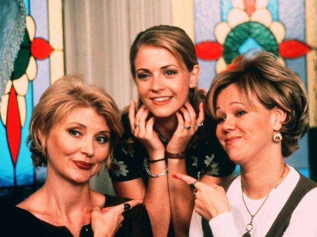Melissa Joan Hart did not appear in the final (Credit: ABC)