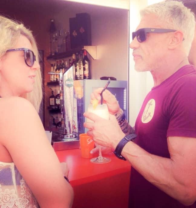 Kerrie briefly met Wayne Lineker six years ago in Ibiza (Credit: Kennedy News & Media)