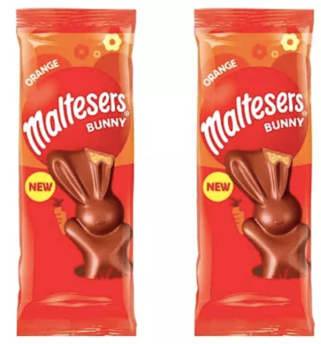 Maltesers is launching orange chocolate bunnies (Credit: Maltesers)