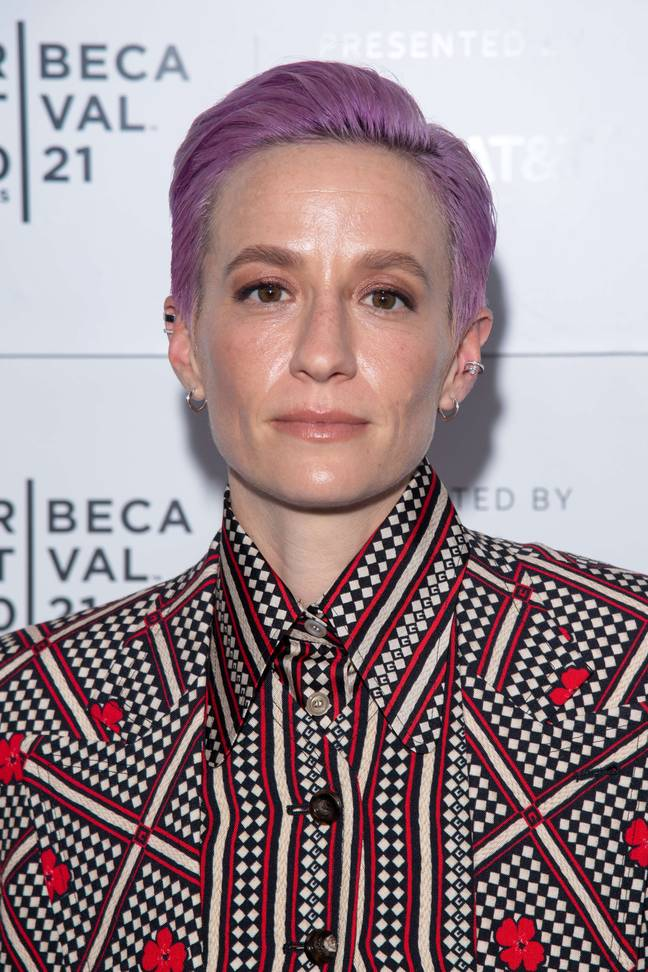 Footballer Megan Rapinoe will be one of the VS Collective (Credit: PA)