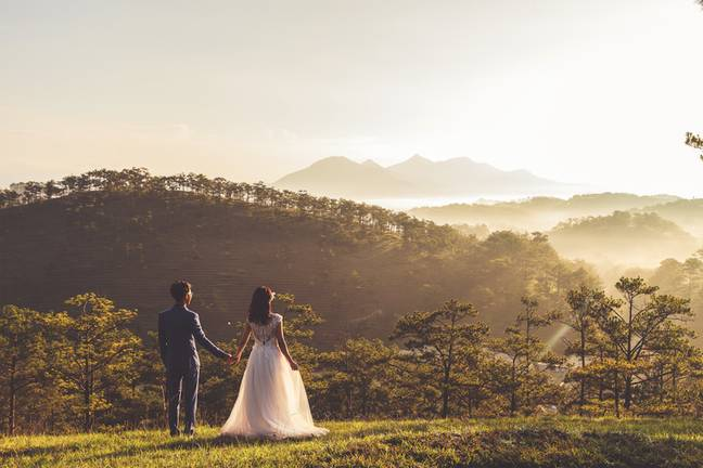 Weddings may be permitted outside (Credit: Unsplash)